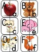 Alphabet Puzzles Matching Center Reading Intervention