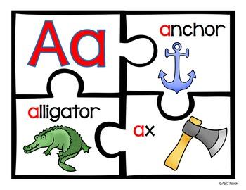 Alphabet Puzzles Pack