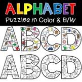Alphabet Puzzles Phonics Activities