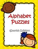 Alphabet Puzzles (Spanish Edition)