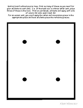 Alphabet Puzzles Task Box Activity