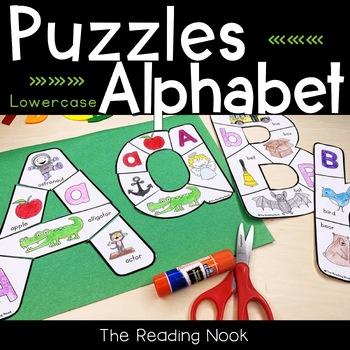 Alphabet Puzzles - Uppercase