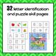 Alphabet Puzzles - Weather and Seasons Theme - S