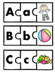 Alphabet Puzzles and Practice - Initial sounds  - Phonemic
