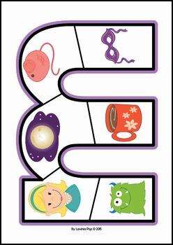 Alphabet Puzzles {lower case}