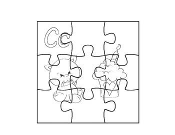 Alphabet Puzzling Letter Puzzles