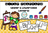 Alphabet Q-Tip Painting Pages- Literacy Word Work