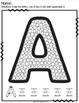 Q-tip Painting Alphabet Bundle Lower/Uppercase Letters