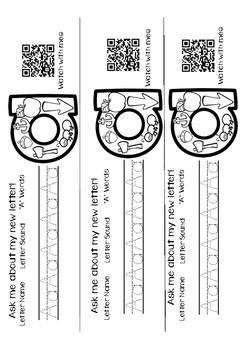 Alphabet QR Code Bracelets
