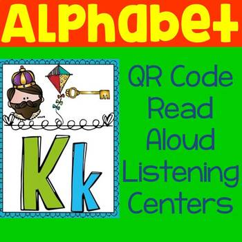 Alphabet QR Code Read Aloud Listening Centers