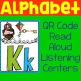 Distance Learning: Alphabet QR Code Read Aloud Listening Centers
