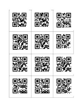 Alphabet QR Codes