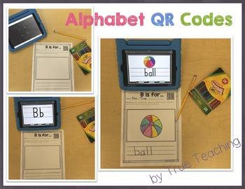Alphabet QR Codes A-Z