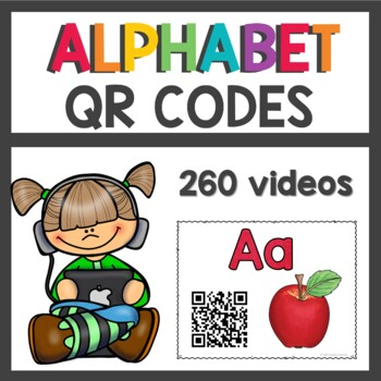 Alphabet QR Codes for your listening Center