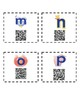 Alphabet QR Codes with Alphafriend Characters