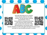Alphabet QR code activity
