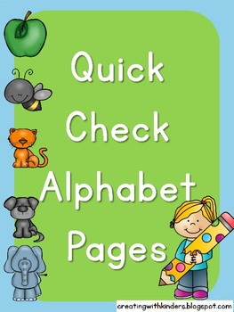 Alphabet Quick Check