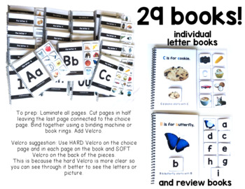 Alphabet REAL PICTURE Adapted Books