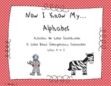 Alphabet RTI Intervention Workbook & Activities