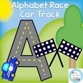 Alphabet Race Car Track