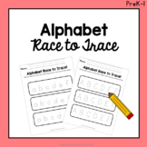 Alphabet Race to Trace Activity!