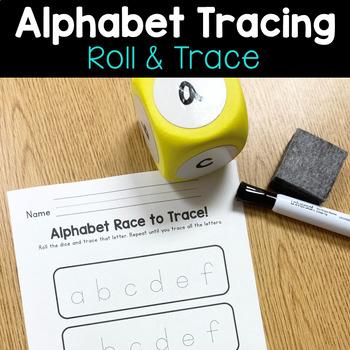 Alphabet Race to Trace Activity!