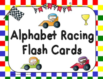 Race to Trace Alphabet Mats, Cards and Posters