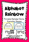 Alphabet Rainbow - Alphabetical Order Activity - Australia