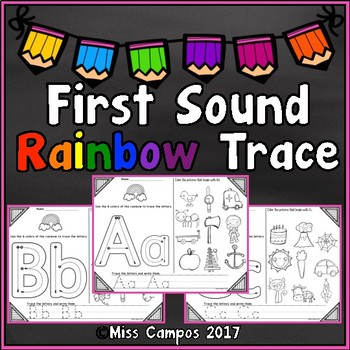 Alphabet Rainbow Trace