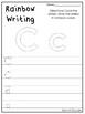 Alphabet Rainbow Writing Worksheets. Preschool-KDG Phonics and Literacy