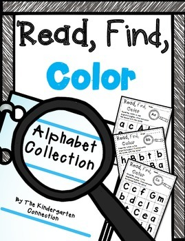 Alphabet Read, Find, Color