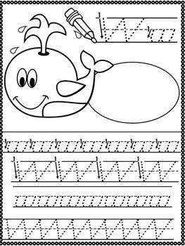 Alphabet Read & Trace {D'Nealian Handwriting Practice} Pre-K-2
