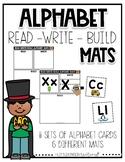 Alphabet Read-Write-Build Mats