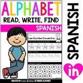 Alphabet Read, Write, Find {Spanish only}