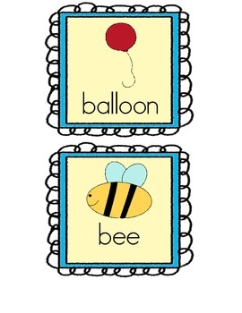 Alphabet Read and Write The Room Freebie!