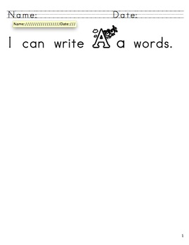 Alphabet Read and Write the Room - Reading Word Investigators