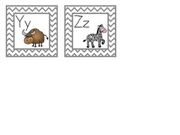 Write the Room Animal Begining Sounds Activity