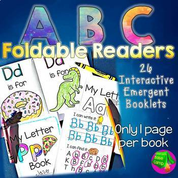 Alphabet Reader - ABC Foldable Books