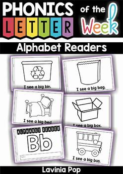 Alphabet Readers: Sight Words and CVC Words