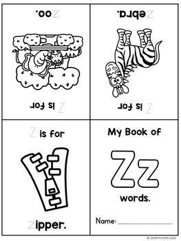 Alphabet Worksheets (Mini Readers)