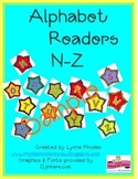 Alphabet Readers N-Z By Lynne Rhodes