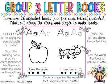 Reaching Readers Alphabet Readers Sample