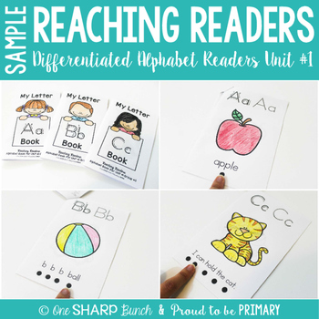Reaching Readers Alphabet Readers Sample
