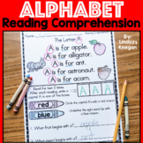 Alphabet Reading Comprehension Passages