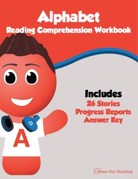 Alphabet Reading Comprehension Bundle