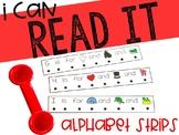 Alphabet Reading Strips