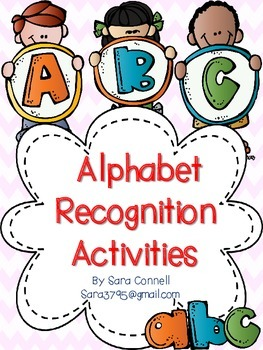Alphabet Recognition Activities