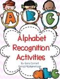 Alphabet Recognition Activities