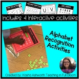 Alphabet Recognition Activities - Interactive Activities f