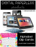 Alphabet Recognition Clip Cards Digital | Lowercase - Lowe